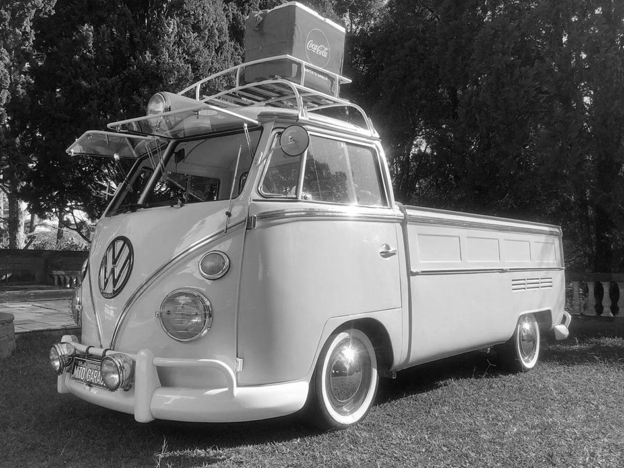 VW Kombi T1 Pick Up White 1975