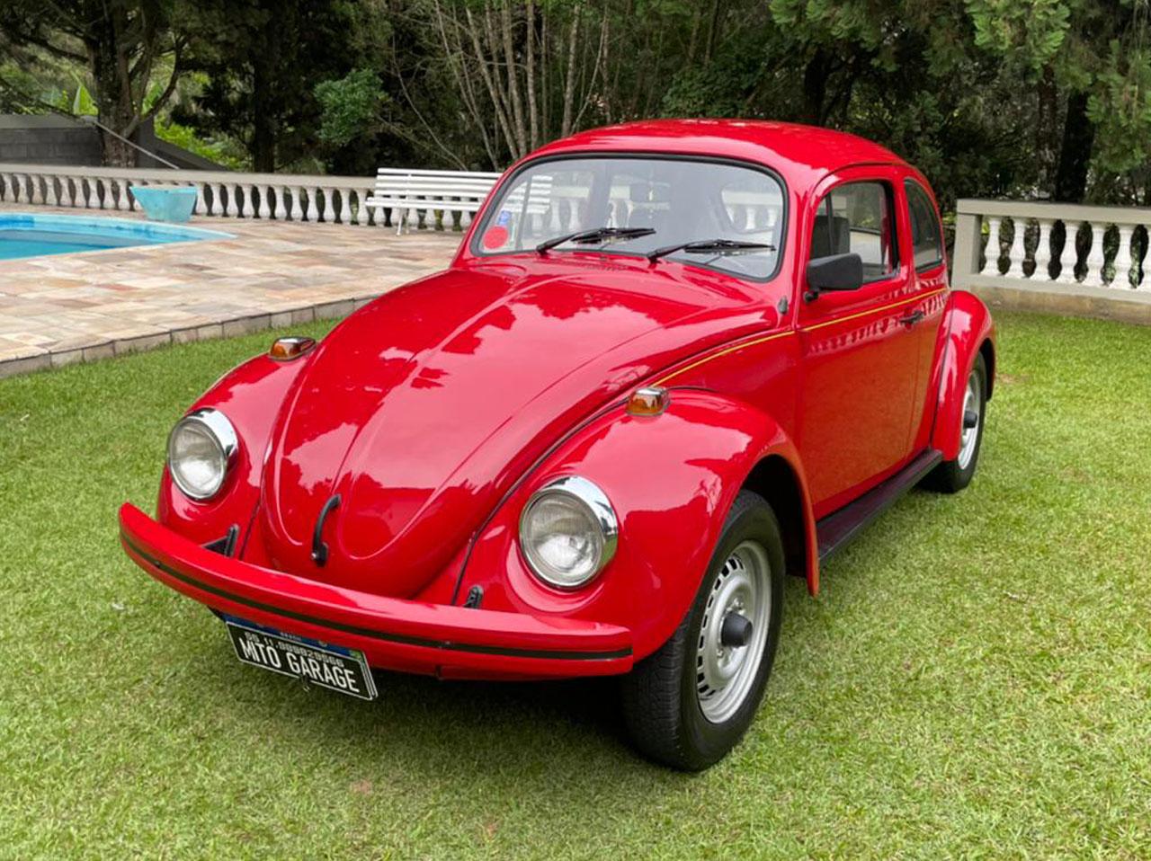 VW Fusca Itamar Vermelho Sport 1994