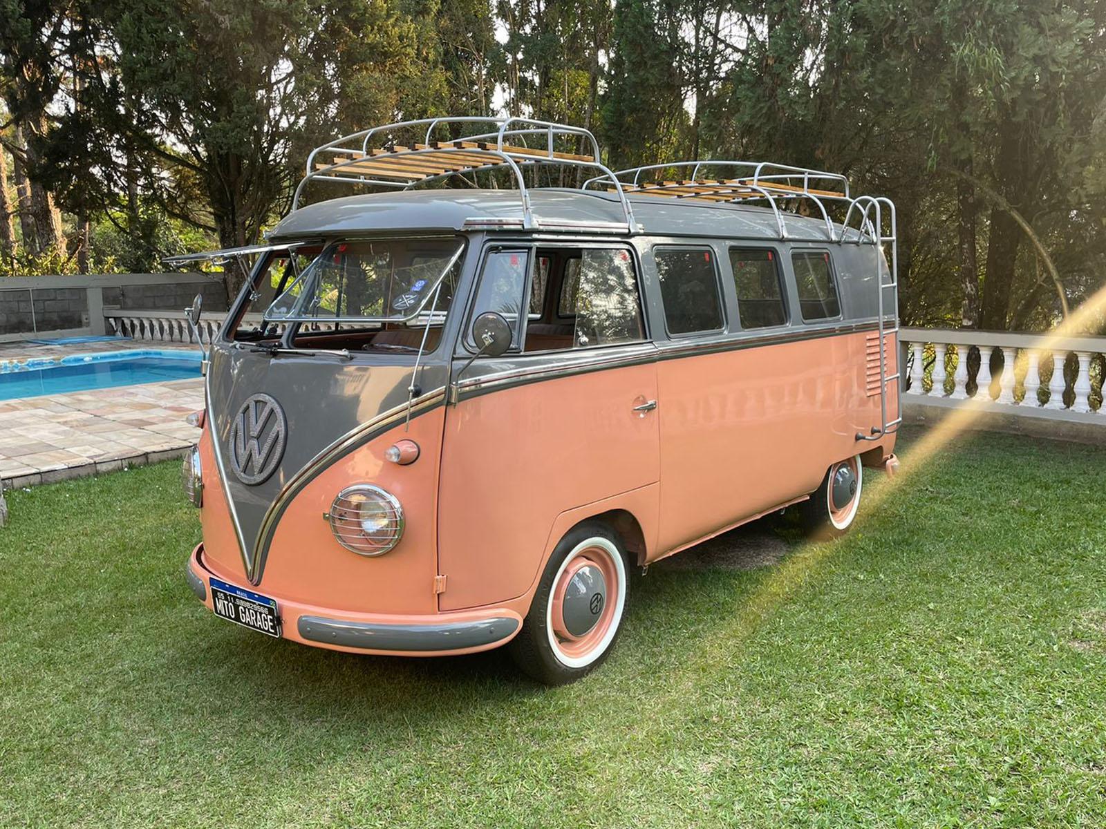 VW Kombi T1 Salmon Gray 1962