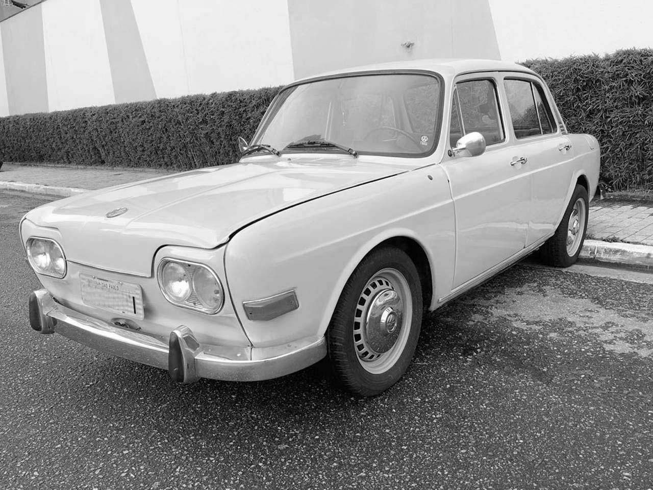 VW Zé do Caixão Branco 1969