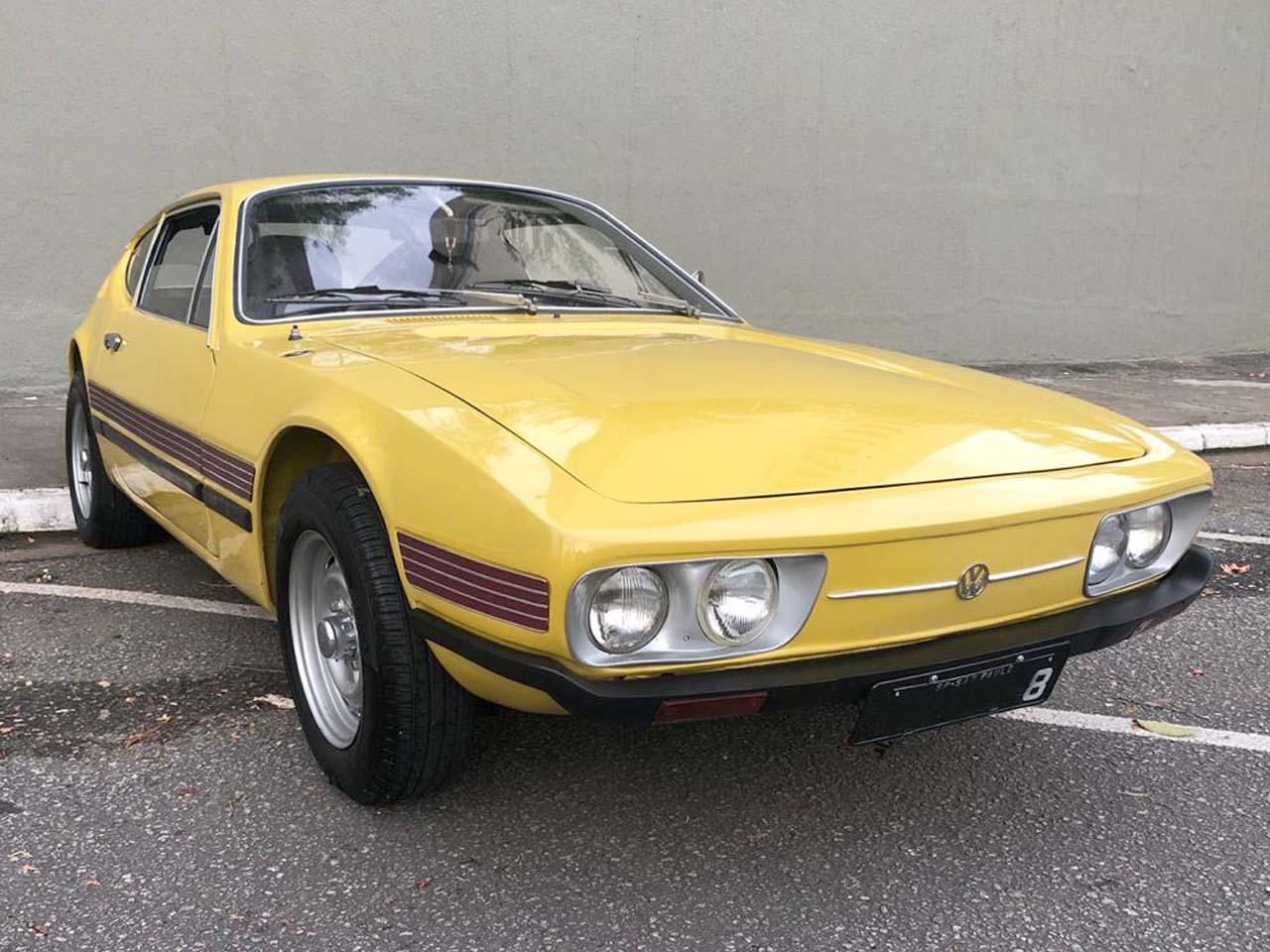 VW SP2 Amarelo Texas 1973