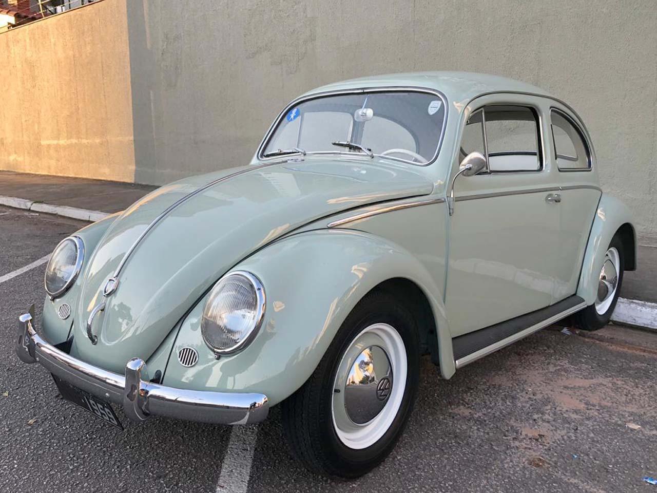 VW Fusca Verde Jade 1959