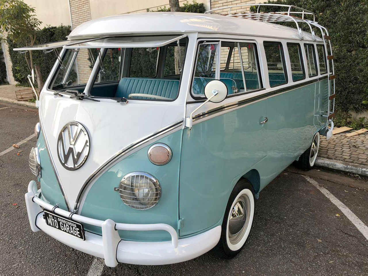 VW Kombi T1 Azul Pastel 1973