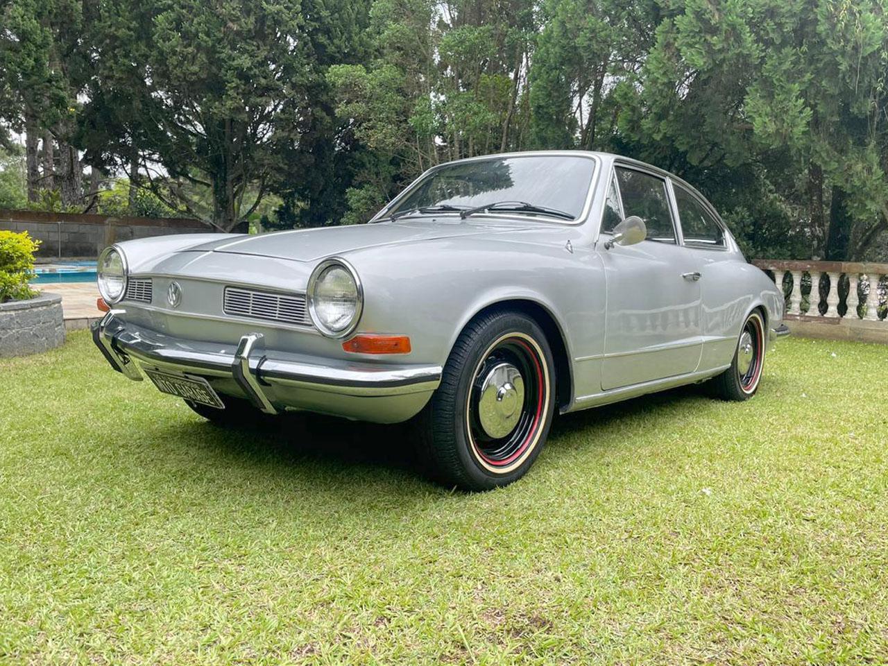 VW Karmann Guia TC Prata  1976