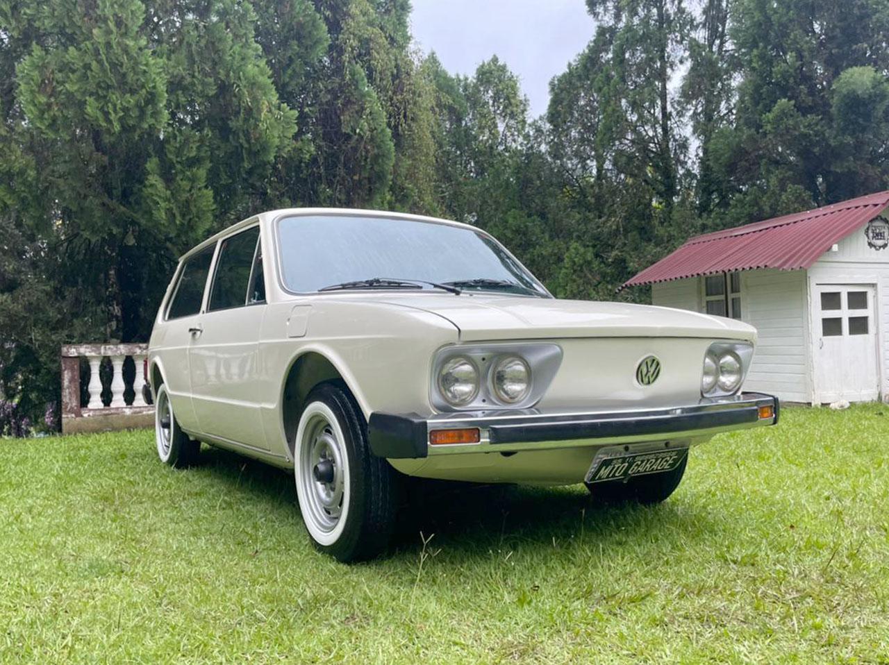 VW Brasília Branca 1979/1980